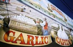 Gilroy, California—The garlic capital of world. #festivals
