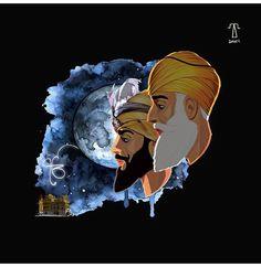 Guru Nanak Photo, Guru Nanak Ji, Sikh Quotes, Gurbani Quotes, Writer Quotes, Scary Wallpaper, Wallpaper Iphone Cute, Farmer Painting, Diy Fashion Videos