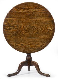 Allpress Antiques Furniture Melbourne Victoria Australia: An 18th Century English Country oak wine table - AA1495