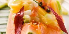 Salade de papaye aux fruits exotiques