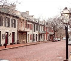 St. Louis cottage rental - Small section of charming Main Street in historic St. Charles