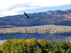 Eagle Nest is located in the Sangre de Cristo Mountains, nestled in the Moreno Valley between New Mexico's two highest peaks - Baldy Mountain (12,441 feet) and Wheeler Peek (13,161 feet) - at the junction of US Hwy 64 and State Hwy 38