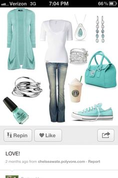 I can just imagine how fun this outfit will to wear and how cute I'll be in it!! #FeelGoodOutfit