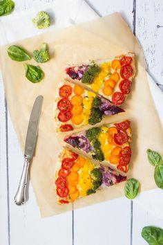 Pizza Passion - Regenbogen-Pizza