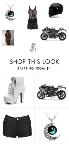 """""""Meeting Bucky"""" by sara598d on Polyvore featuring Revolver and Kawasaki"""