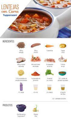 Ideal para la comida de hoy, Lentejas con Carne.
