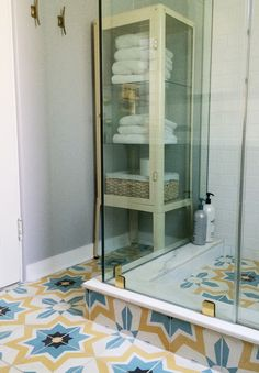 put the ledge down low so the bottles do not clutter the eye level on the wall inside the shower. JnSK3