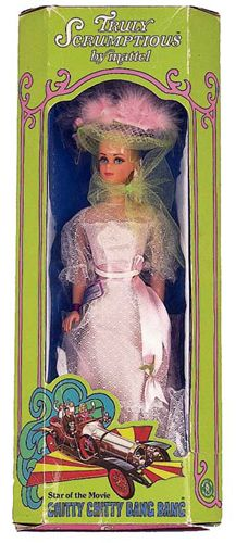She was my ONLY Barbie! I am probably repressing terrible memories since I only had one Barbie in my life! :)  Truly Scrumptious doll chitty chitty bang bang