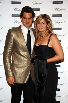 Roger Federer und Mirka Federer