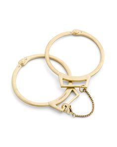 Handcuff bracelets! Love it!