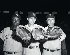 Al Smith, Jim Landis, Jim Rivera, White Sox Outfielders 1959 Baseball Photos, Baseball Cards, White Sox World Series, Al Smith, Paul Konerko, White Sox Baseball, Chicago Photos, The Outfield, American League