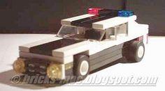 The MOC Blog: 4 wide LEGO MOC Police Interceptor Car