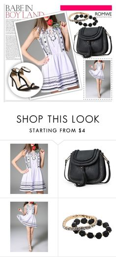 """ROMWE 10/5"" by melissa995 ❤ liked on Polyvore featuring White Label"