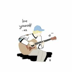 Love yourself Mark Nct, Bts Fans, Love You, My Love, Aesthetic Anime, Nct Dream, Make You Smile, Boy Groups, Fan Art
