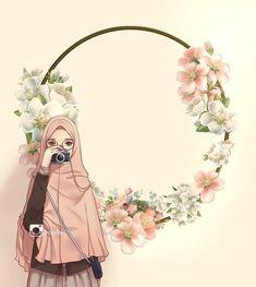 51 Ideas Wall Paper Anime Cute Wallpapers For 2019 Girl Cartoon, Cartoon Art, Logo Online Shop, Hijab Drawing, Islamic Cartoon, Hijab Cartoon, Islamic Girl, Islamic Wallpaper, Jolie Photo
