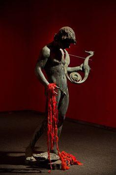 Mandy Greer #crochet #art exhibit