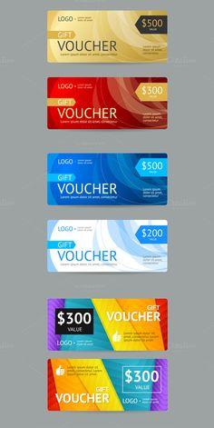 Gift Voucher Template Vector EPS #design Download: https://creativemarket.com/mouse_md/376249?u=ksioks