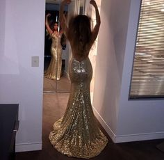 Sparkly+High+Quality+Prom+Dresses,Mermaid+Prom+Dresses,Gold+Sequin+Prom+Dresses,Backless+Prom+Dresses,Sexy+Prom+Dresses DESCRIPTION: ***when+you+order+please+tell+me+your+phone+number+for+shipping+needs+. Modest Prom Gowns, Sexy Formal Dresses, Mermaid Prom Dresses Lace, Sequin Prom Dresses, Homecoming Dresses, Backless Dresses, Lace Mermaid, Dresses Dresses, Sparkly Dresses