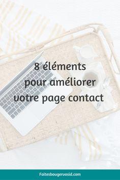 Beaucoup d'entrepreneurs et de blogueurs minimisent l'importance de la page contact. C'est une erreur, car elle peut, elle aussi, vous permettre d'avoir plus de contacts !