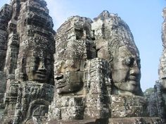 Bayon Temple, Cambodia.  Angkor Wat was just spectacular, but this temple was truly a spiritual experience for me.  Awe inspiring, just incredible.