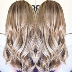 Blonde balayage by April Hills