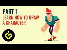 Learn How to Draw Character in Adobe Illustrator PART 1 - YouTube