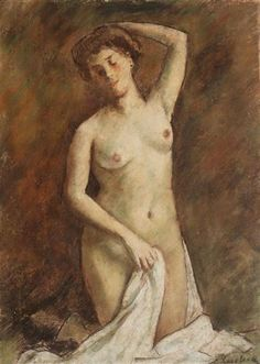 After Bath - Stefan Luchian After Bath, Art Database, Impressionism, Painting & Drawing, Statue, Drawings, Artwork, Image, Paintings