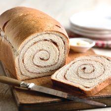 100% Whole Wheat Cinnamon Swirl Bread: King Arthur Flour