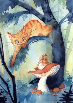 Une illustration réalisée pour une exposition du livre jeunesse...