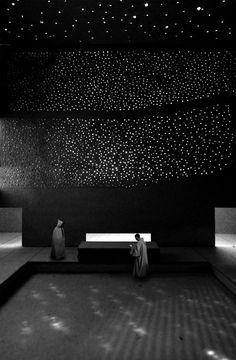Illuminated isolation; a monastery for the Cistercian Order Studio denk ruimte, 2011 [via]
