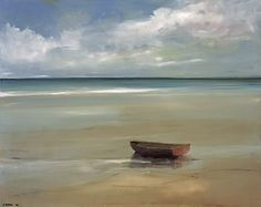 """My paintings are not about loneliness they are about solitude"" Anne Packard"