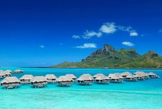 Four Seasons Resort Bora Bora (21 more photos of this resort, and a video too...click on the photo)