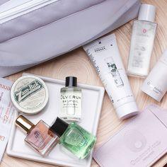 Sneak peek of our latest beauty bag