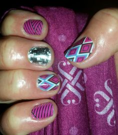 Jamberry nail wraps even look fantastic on short nails!! Get yours at www.lipstips.jamberrynails.net