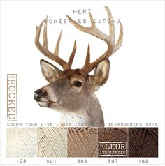 Mrshooked: Oh deer. Yarn Color Combinations, Color Schemes, Knitting Yarn, Knitting Patterns, Yarn Colors, Colours, I Love This Yarn, Oh Deer, Crochet Art