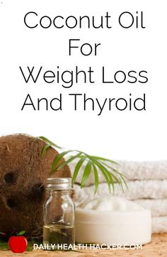 Coconut oil has many beneficial uses, including being used to treat thyroid and weight loss problems. Coconut oil contains important fatty oils that help boost your metabolic rate and keep you healthy. Get Healthy, Healthy Tips, Healthy Choices, Thyroid Diet, Thyroid Health, Hypothyroidism Diet, Thyroid Symptoms, Thyroid Issues, Thyroid Hormone