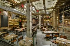 Toro - NYC Barcelona-style Tapas in an industrial, rustic setting.