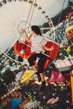 She liked getting lost in the carnival.  Her senses were overwhelmed with color, sound, and decadent, sweet smells.  She couldn't help but indulge in the moment a little longer. ~JH
