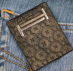 Personalizado em relevo etiqueta de couro para jeans-imagem-Etiquetas de tecido…
