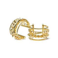 """EDDIE BORGO SIGNATURE CUFFS ($130,000 AS A PAIR). """"Our signature cuffs in 13 ounces solid 18-karat gold would be the ultimate, opulent holiday gift. Sold as a set, there are only two pairs available in the world, and one pair has already sold! Nothing says 'I love you"""" like a cool 130K""""--Eddie Borgo  (Available at select Neiman Marcus locations or through the """"Christmas Book."""")"""