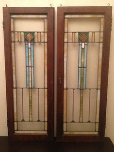 Cute Leaded Glass Cabinet Doors Decoration