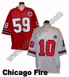 Chicago Fire World Football League Replica Jersey