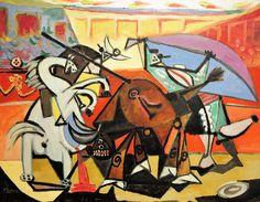 Pablo Picasso - Bullfight, 1934