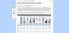 http://bestfoodprocessorreviewsguide.com/ best food processor info at BestFoodProcessorReviewsGuide.com Looking for some great food processor reviews? Then check out http://bestfoodprocessorreviewsguide.com/