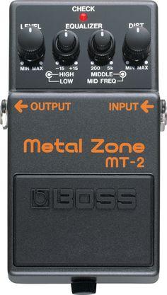 BOSS - MT-2 | Metal Zone