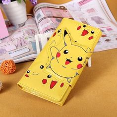 Pikachu Wallet. Or this one