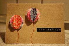 Whatever the occasion, it's invitations made easy with Dymo! Balloon Invitation, Invitation Design, Invitation Cards, Origami, Party Invitations Kids, Card Making Inspiration, Craft Party, Diy Projects To Try, Greeting Cards Handmade