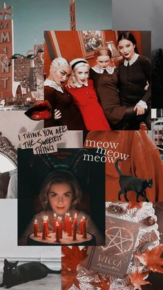 Sabrina Costume, Sabrina Cast, Love Tv Series, Kiernan Shipka, Sabrina Spellman, Season Of The Witch, The Dark World, Wallpaper Iphone Disney, Disney And More