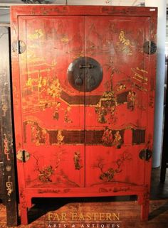 What the hell is this hardware called? Oriental Furniture, Art Furniture, Chinese Antiques, Asian Art, Reuse, Hardware, Cabinet, Room, Home Decor