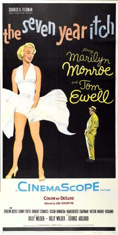 The Seven Year Itch (1955) - US Three Sheet